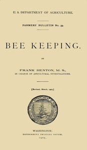 Cover of Bee Keeping