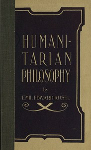 Cover of Humanitarian Philosophy, 4th Edition