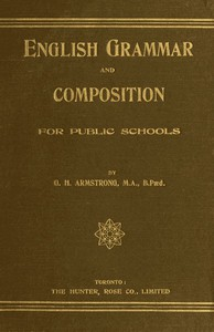 Cover of English Grammar and Composition for Public Schools