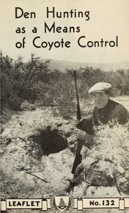 Cover of Den Hunting as a Means of Coyote Control