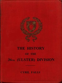 Cover of The History of the 36th (Ulster) Division
