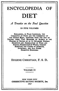 Cover of Encyclopedia of Diet: A Treatise on the Food Question, Vol. 2
