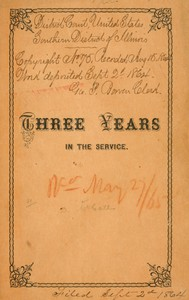 Three Years in the ServiceA Record of the Doings of the 11th Reg. Missouri Vols.