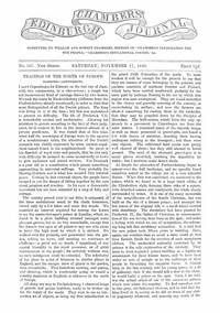 Cover of Chambers's Edinburgh Journal, No. 307 New Series, Saturday, November 17, 1849