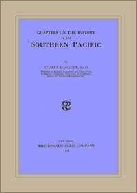 Cover of Chapters on the History of the Southern Pacific