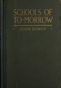Cover of Schools of to-morrow