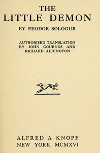 Cover of The Little Demon