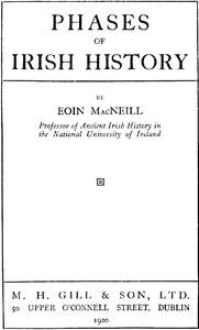 Phases of Irish History