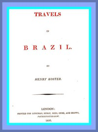 Cover of Travels in Brazil