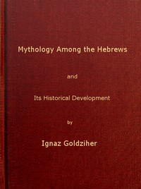 Cover of Mythology among the Hebrews and Its Historical Development