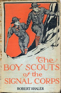 Cover of The Boy Scouts of the Signal Corps