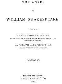 Cover of The Works of William Shakespeare [Cambridge Edition] [Vol. 6 of 9]