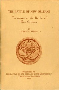 Cover of Tennessee at the Battle of New Orleans