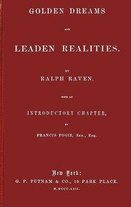 Cover of Golden Dreams and Leaden Realities