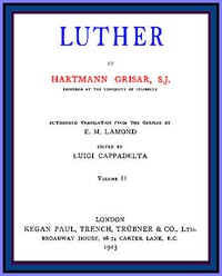 Cover of Luther, vol. 2 of 6