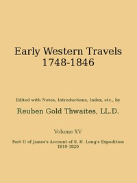Cover of James's Account of S. H. Long's Expedition, 1819-1820, part 2