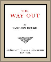 Cover of The Way Out