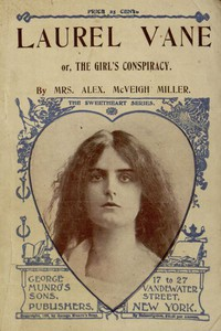 Cover of Laurel Vane; or, The Girls' Conspiracy