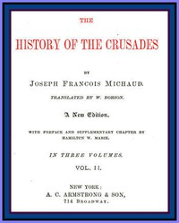 Cover of The History of the Crusades (vol. 2 of 3)