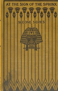 Cover of At the Sign of the Sphinx. Second series