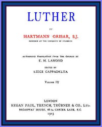 Cover of Luther, vol. 4 of 6