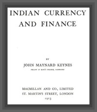 Cover of Indian Currency and Finance