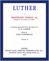 Cover of Luther, vol. 5 of 6