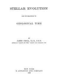 Stellar Evolution and Its Relations to Geological Time
