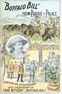 """""""Buffalo Bill"""" from Prairie to Palace: An Authentic History of the Wild West"""