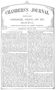 Chambers's Journal of Popular Literature, Science, and Art, No. 708July 21, 1877