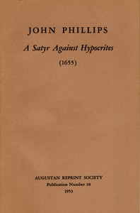 Cover of A Satyr Against Hypocrites