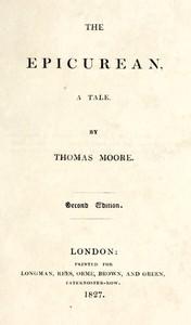 The Epicurean: A Tale