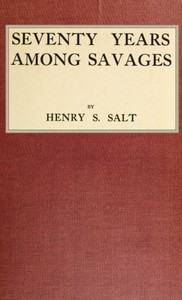 Cover of Seventy Years Among Savages