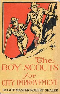 Cover of The Boy Scouts for City Improvement