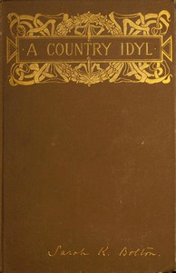 Cover of A Country Idyl, and Other Stories