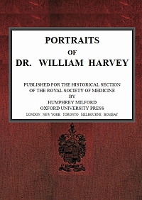Cover of Portraits of Dr. William Harvey