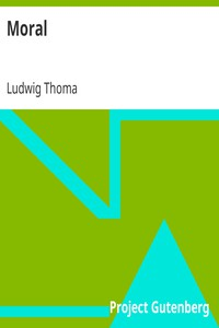 Cover of Moral