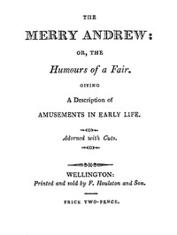 Cover of The Merry Andrew; or, The Humours of a Fair.