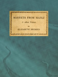 Cover of Sonnets from Hafez & Other Verses
