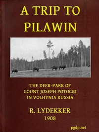 Cover of A Trip to Pilawin, the Deer-park of Count Joseph Potocki in Volhynia, Russia