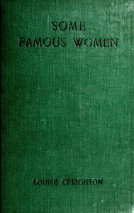 Cover of Some Famous Women