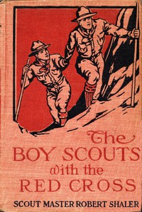 Cover of The Boy Scouts with the Red Cross