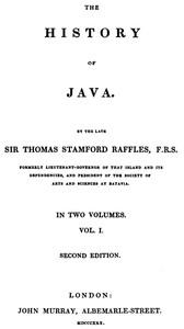 The History of Java, v. 1-2