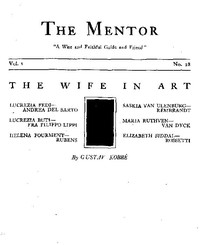 The Mentor: The Wife in Art, Vol. 1, Num. 28, Serial No. 28