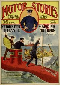 Cover of Motor Matt's Defiance; or, Around the Horn