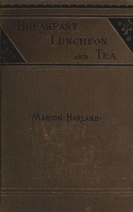Cover of Breakfast, Luncheon and Tea