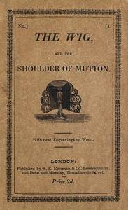 Cover of The Wig and the Shoulder of Mutton; or, The Folly of Juvenile Fears