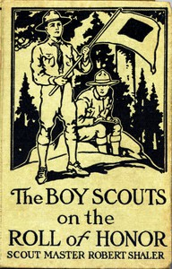 Cover of The Boy Scouts on the Roll of Honor