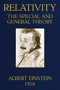 Cover of Relativity : the Special and General Theory