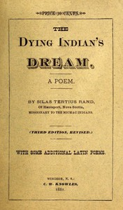 Cover of The Dying Indian's Dream: A Poem